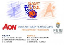 Copa AON Infantil Masculino